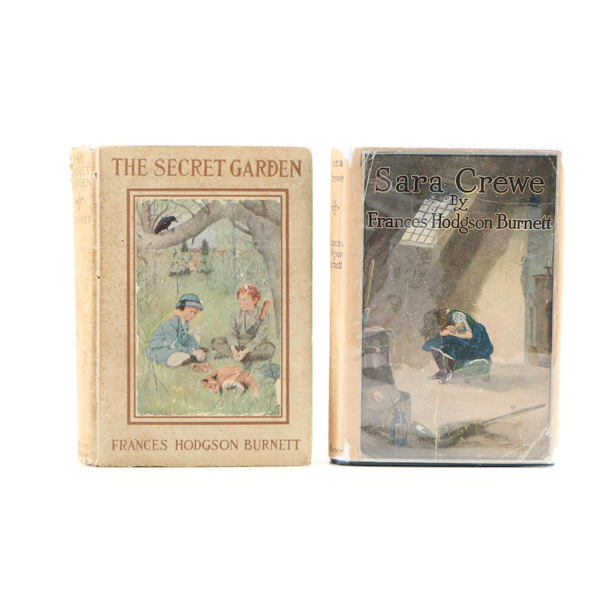 "Second Printing ""The Secret Garden"" with ""Sara Crewe"" by Frances Hodgson Burnett"