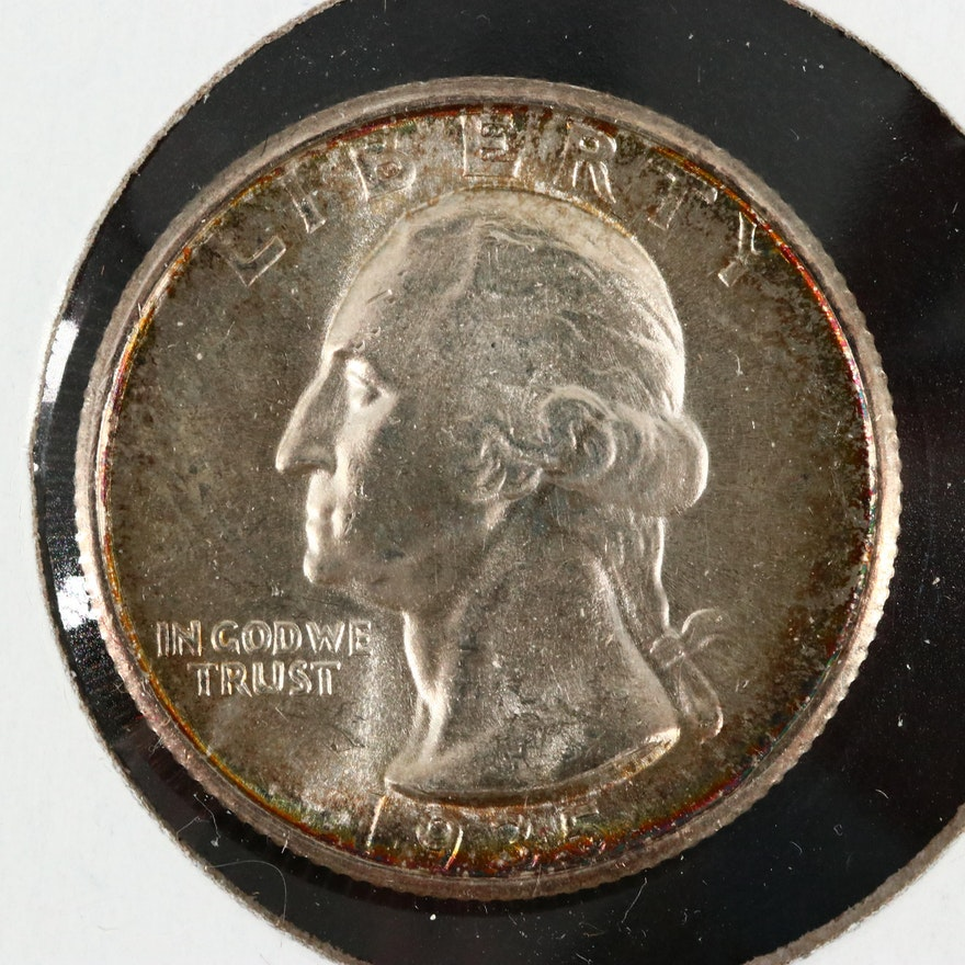 1935-S George Washington Silver Quarter