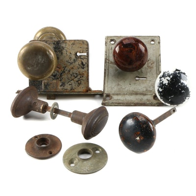 Ceramic, Glass and Brass Door Knobs and More