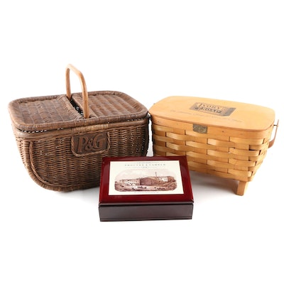 Procter & Gamble Collectible Baskets and 175th Anniversary Commemorative Box