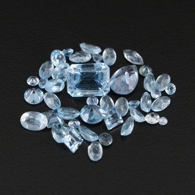 Loose 14.74 CTW Topaz Gemstones