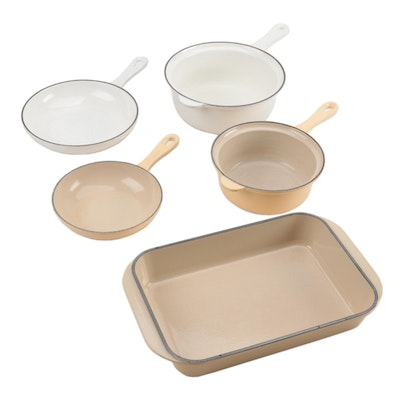 Le Creuset Enameled Cast Iron Rectangle Baker and Multifunction Pans