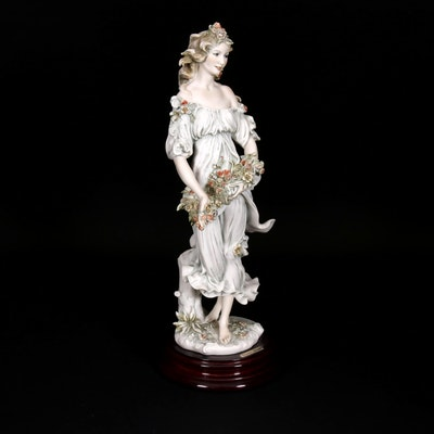 "Giuseppe Armani ""Flora"" Porcelain Figurine, 1993"
