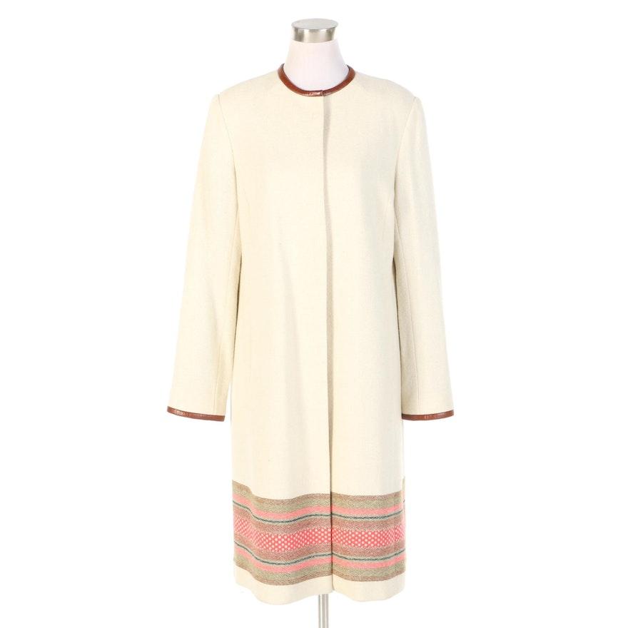 J. Peterman Design Sample Andean Swing Coat with Original Tag