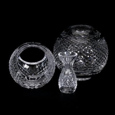 Waterford Crystal Bulbous Vases