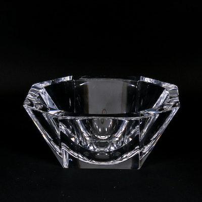 "Orrefors ""Odyssey"" Round Crystal Bowl, 1991-2010"