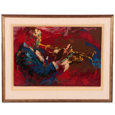 "LeRoy Neiman Serigraph ""Satchmo Louis Armstrong"", 1976"
