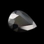 Loose 1.92 CT Black Sapphire Gemstone
