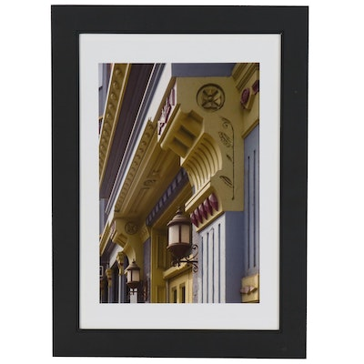 Tony Jones Architectural Digital Photographic Print of Doorways with Corbels