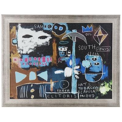 Giclée After Jean-Michel Basquiat