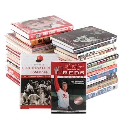 Cincinnati Reds Collection of Books