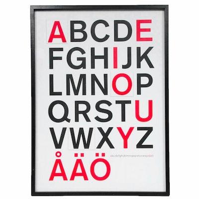 Alphabet Themed Wall Hanging