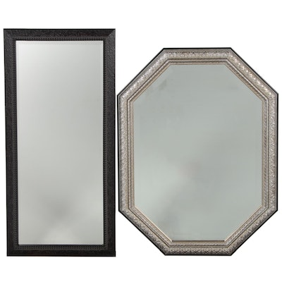 Contemporary Octagonal and Rectangular Wall Mirrors
