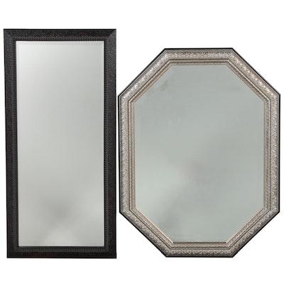Contemporary Octagonal and Rectangular Wall Mirrors