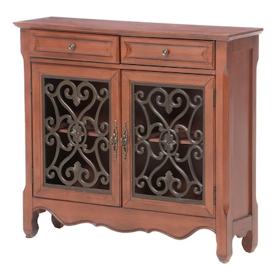 Powell Cabinet with Molded Panel Doors