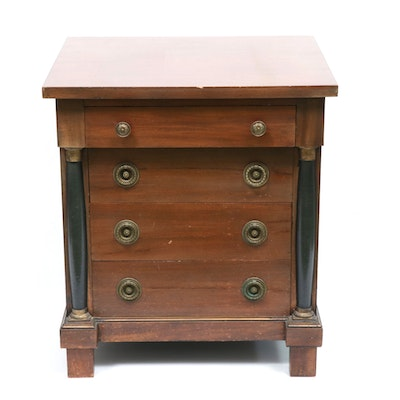 Italian Empire-Style Miniature Chest of Drawers, Mid-20th Century