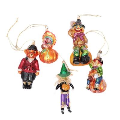Christopher Radko Halloween Themed Ornaments