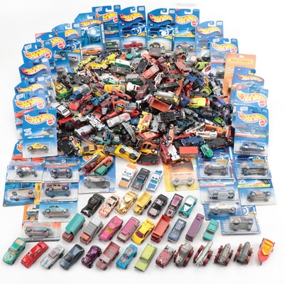 "Mattel ""Hot Wheels"" and Other Die-Cast Toy Model Cars, circa 1970s-2000s"