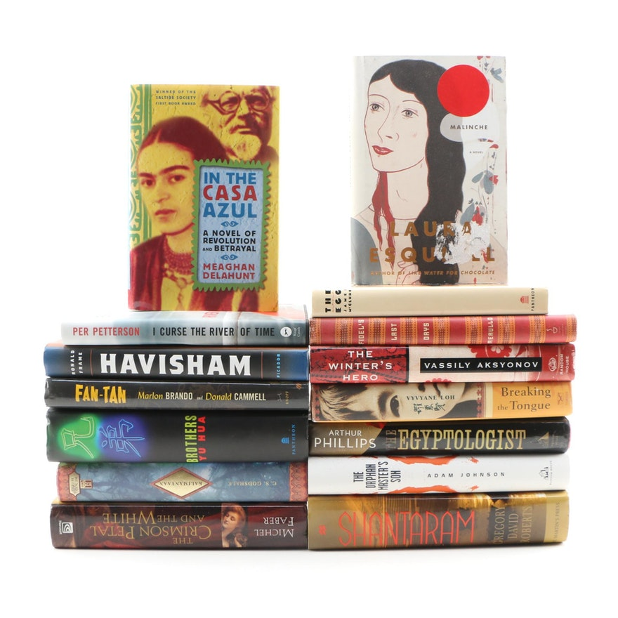 Fiction Books with International Settings including First Editions
