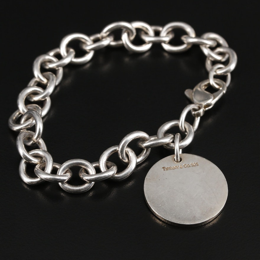 Tiffany & Co. Sterling Silver Bracelet with Tag