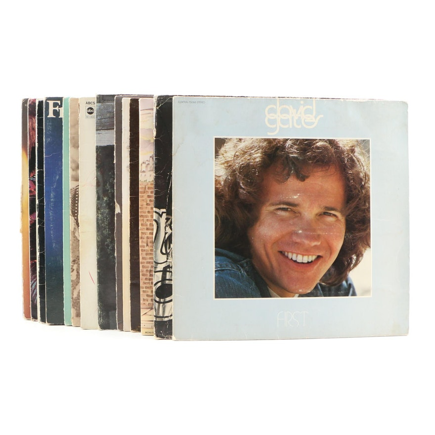 Elton John, Chicago, David Gates and Other Vinyl Records