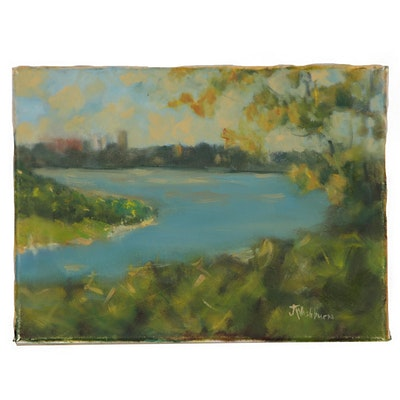 Jane Strasser Washburn Landscape Oil Painting