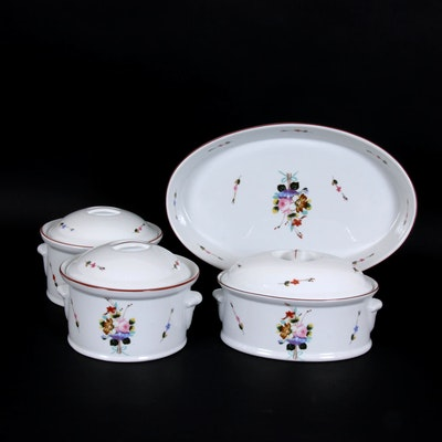 "Philippe Deshoulieres ""Winterthur"" French Porcelain Bakeware"