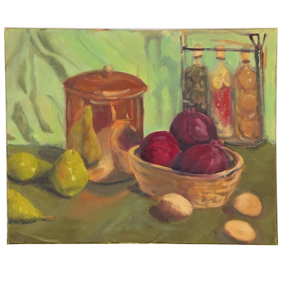 Jane Strasser Washburn Still Life Oil Painting