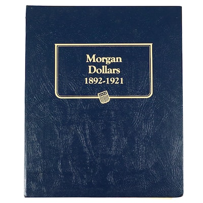 Whitman Binder of Morgan and Peace Silver Dollars