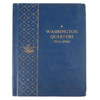 Whitman Binder of Washington Silver Quarters, 1932 to 1964