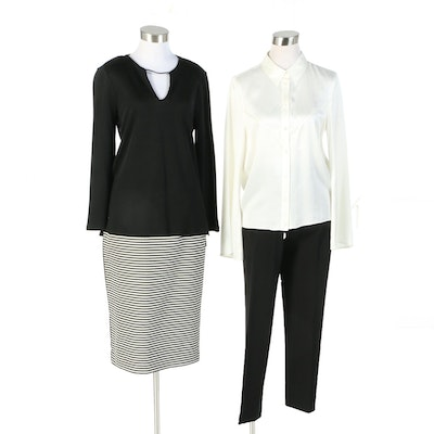 Kate Moss Equipment, Halston Heritage, Vince Camuto and Lafayette 148 Separates