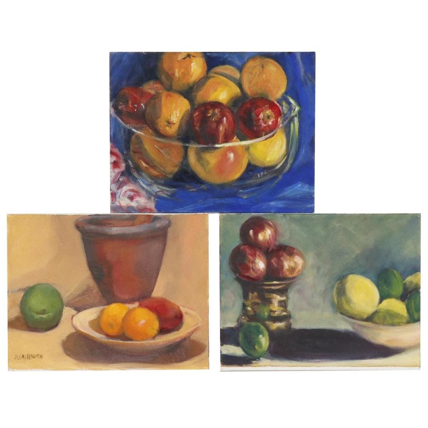 Jane Strasser Washburn Still Life Oil Paintings