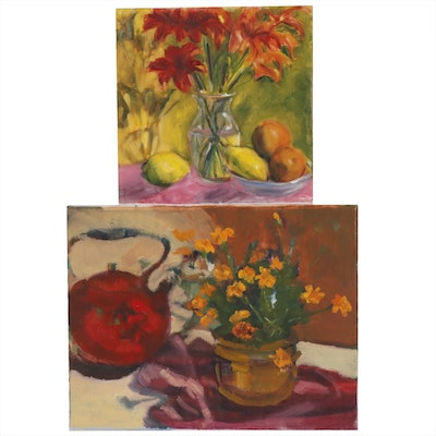 Jane Strasser Washburn Still Life Oil Paintings