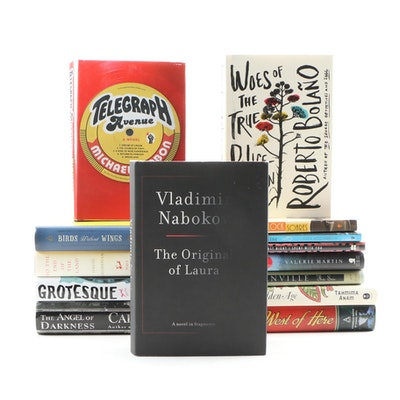 Fiction Books Including Vladimir Nabokov, Michael Chabon, and Roberto Bolaño