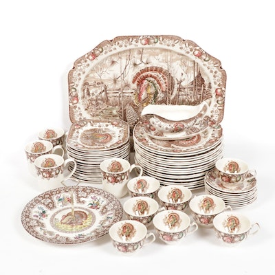 "Johnson Bros. ""His Majesty"" Transferware Dinnerware, 1955-1983"