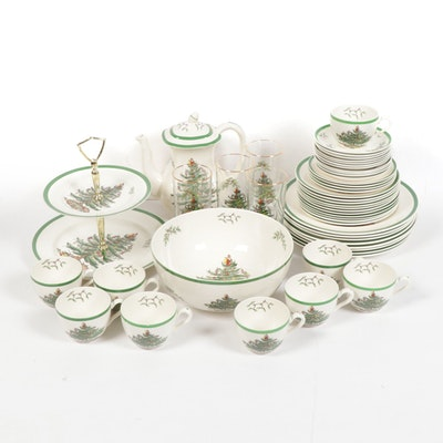 "Spode ""Christmas Tree"" Dinnerware and Serveware"