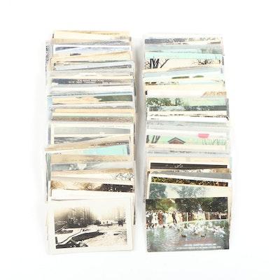 Postcards of Landmarks, Buildings, and Americana of Marshall, Michigan