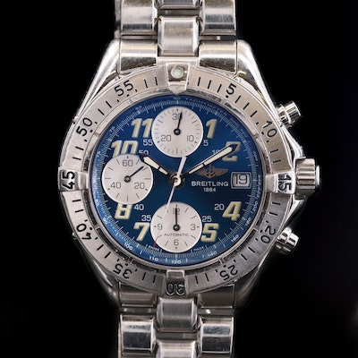 Breitling Colt Chrono Automatic Stainless Steel Wristwatch