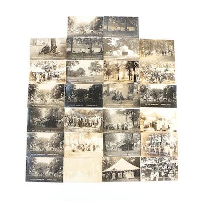 Postcards From The 1909 Calhoun Fair in Marshall, Michigan
