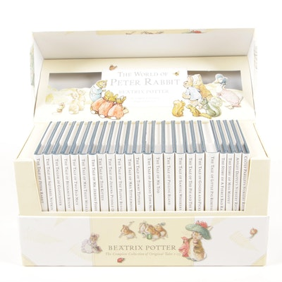 """The World of Peter Rabbit"" Complete Collection By Beatrix Potter"