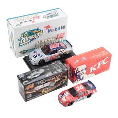 Revell and Action Racing Diecast NASCAR Model Cars in Original Packaging