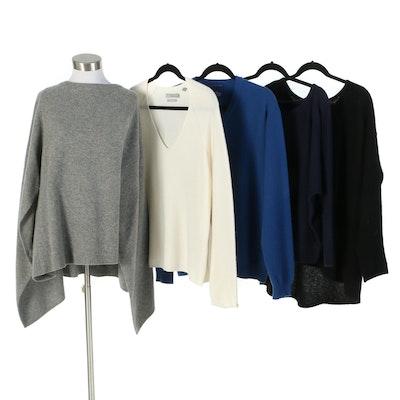 Sandro Paris, Vince., White + Warren Iris & Ink, and Charter Club Sweaters
