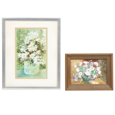 Sharon Visintine Floral Paintings