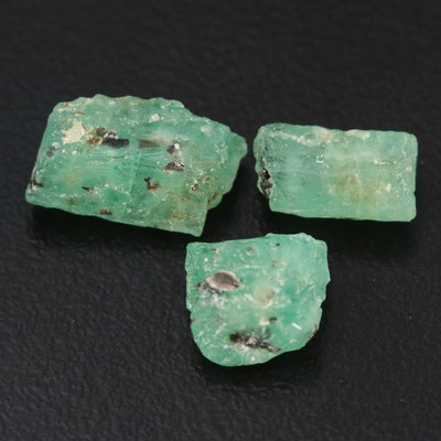 Loose 7.48 CTW Emerald Gemstone