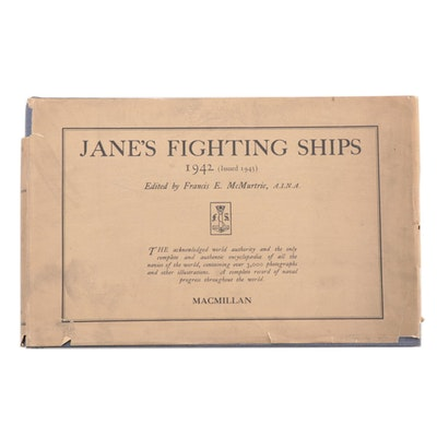 """Jane's Fighting Ships"" 1942 Edition Edited by Francis E. McMurtrie, 1943"