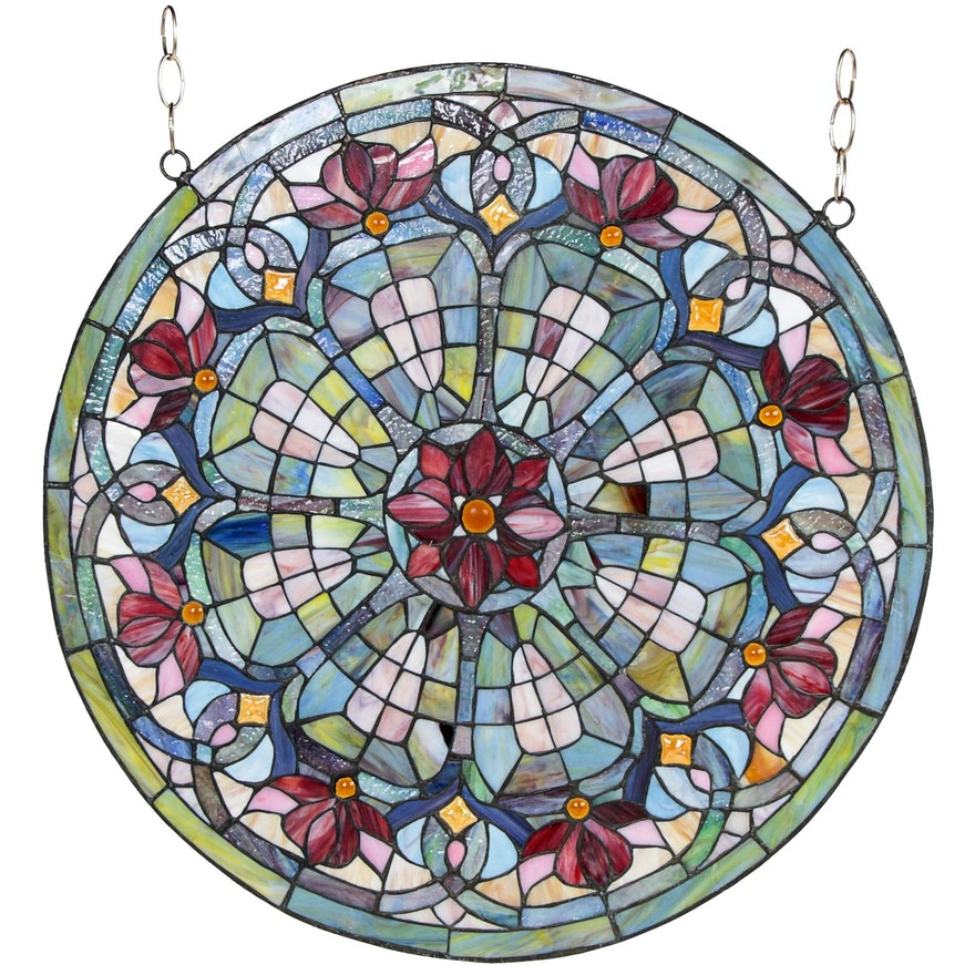 Leaded Stained Glass Window Hanging