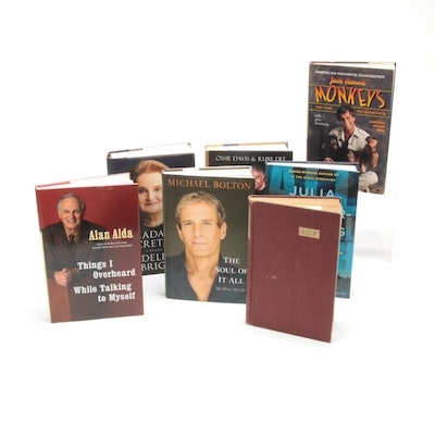 Michael Bolton, Jack Hanna and Other Signed First Editions