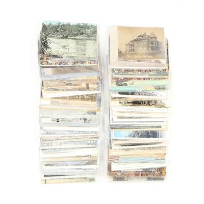 Tourist and Americana Postcards From Marshall, Michigan