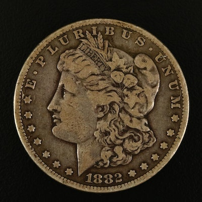 1882 Carson City Silver Morgan Dollar