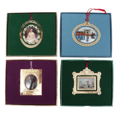 The White House Historical Association Annual Ornaments, 1990s